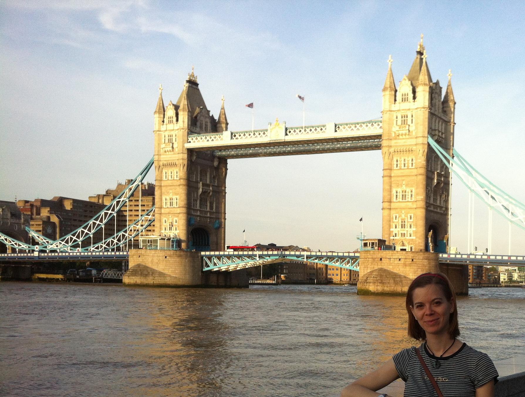 Movilidad de prácticas en Londres por Nadia Romero