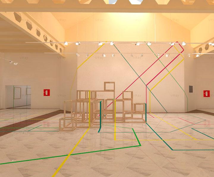 Exposici n de dise o de interiores hall de artediez del 1 for Escuelas diseno de interiores