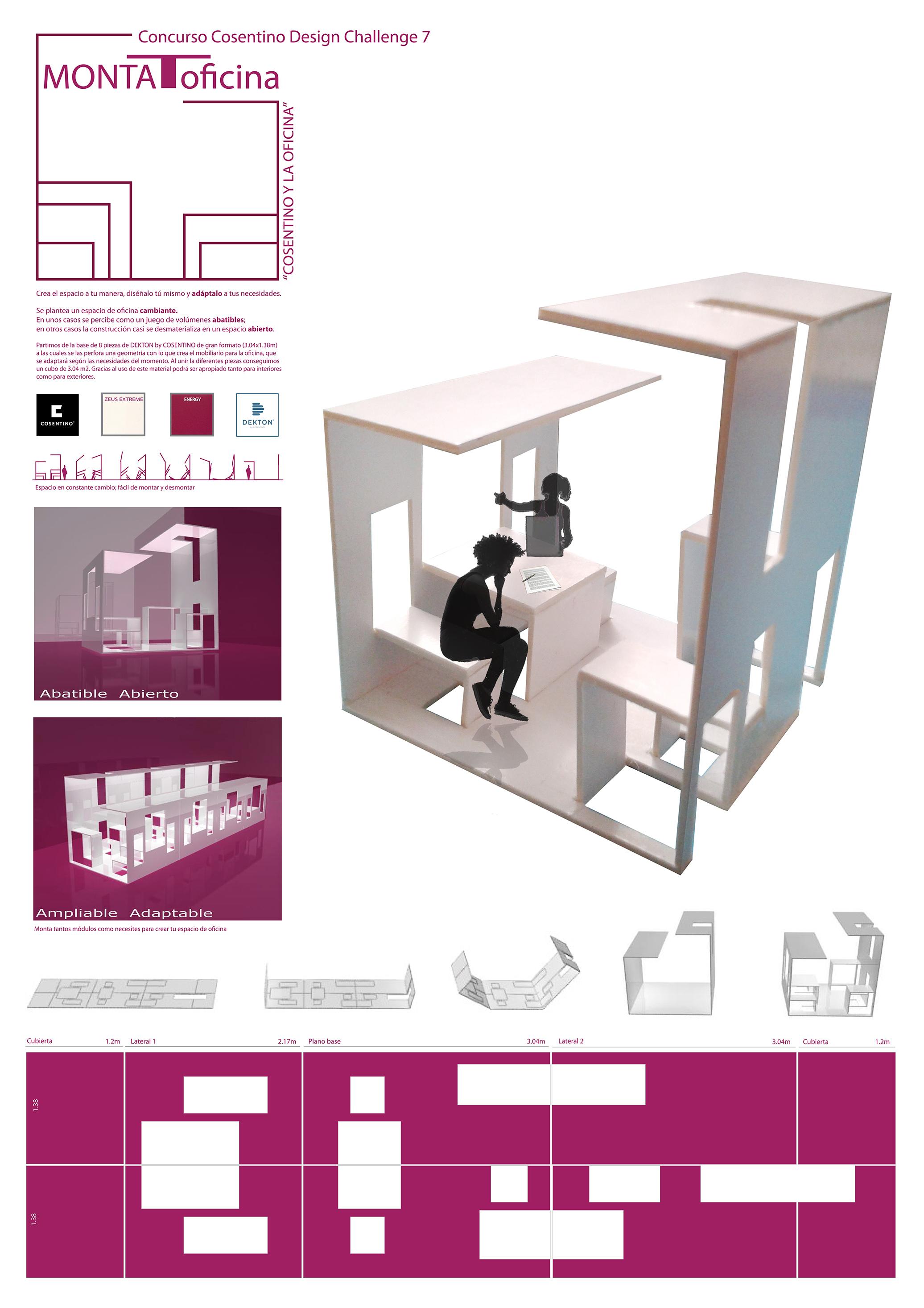 Exposici n en la escuela arte10 de los proyectos ganadores for Cartel oficina