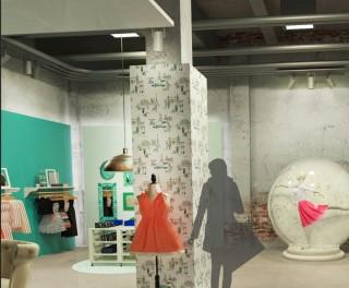 Área de Diseño de Interiores, proyecto Compañía fantástica