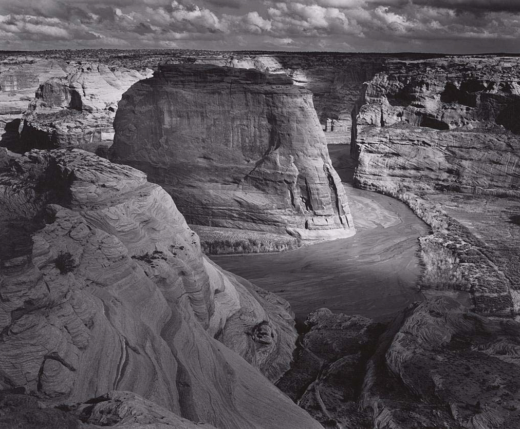 Ansel Adams 1902 - 1984 Canyon de Chelly National Monument, from White House Overlook, Arizona