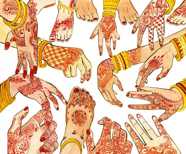 Proyecto de Ilustración de Nabila El Haiut, Artediez